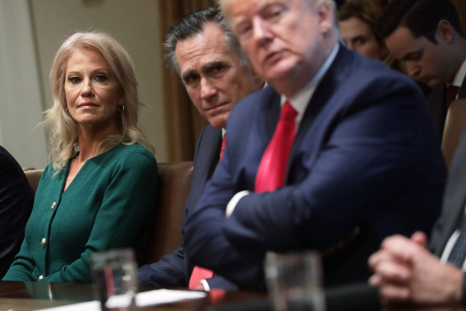 Kellyanne Conway, Donald Trump, COVID-19, Rose Garden, White House