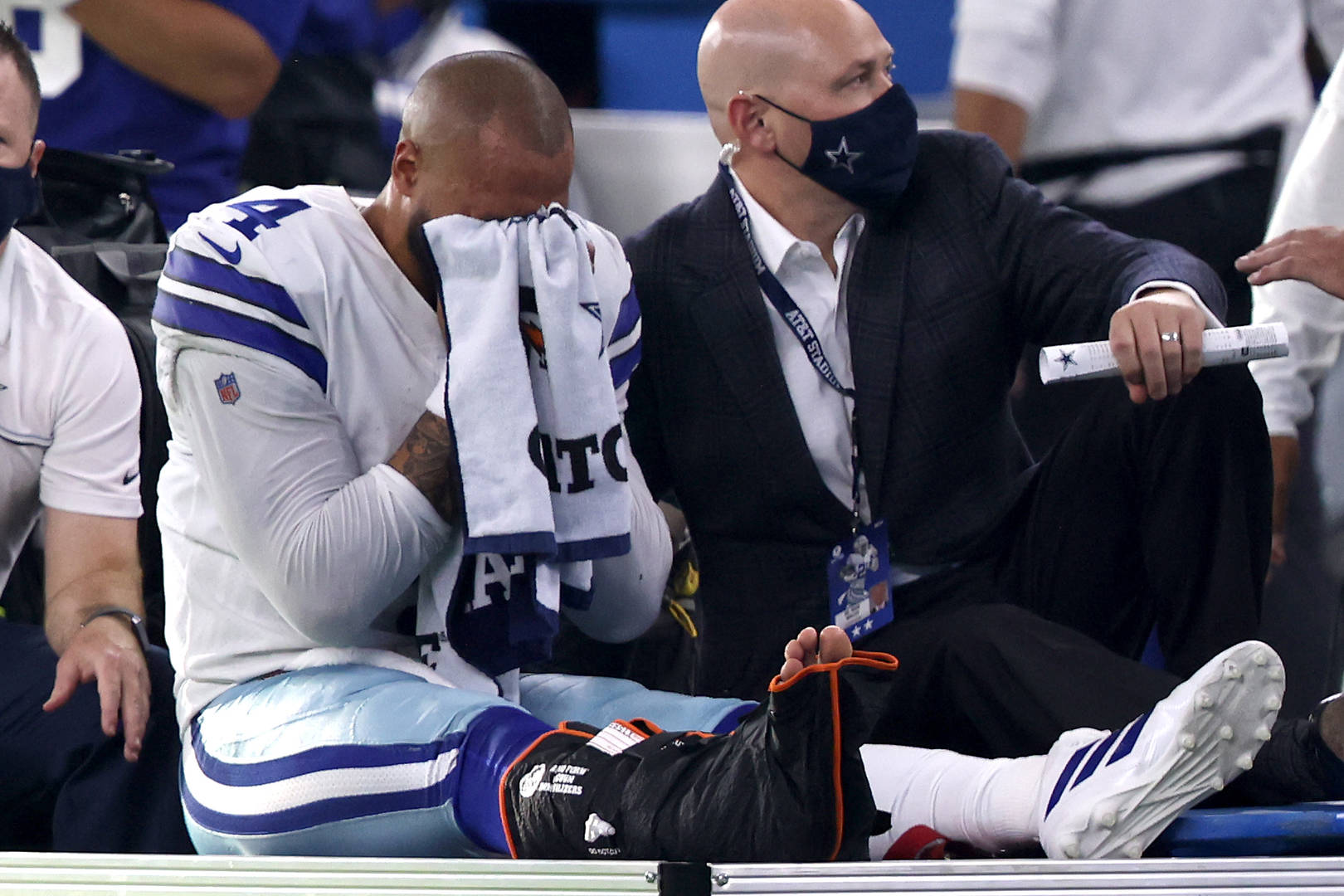 Dak Prescott, Injury