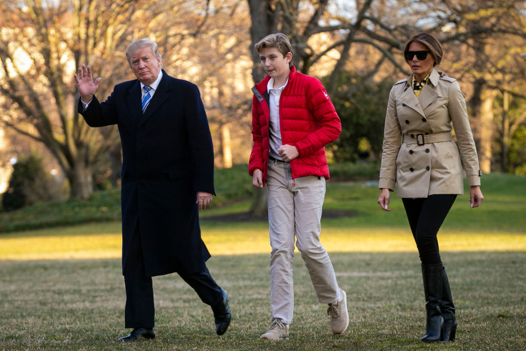 Barron Trump had coronavirus