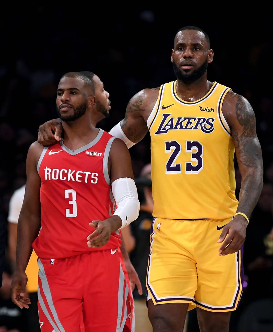 LeBron James & Chris Paul