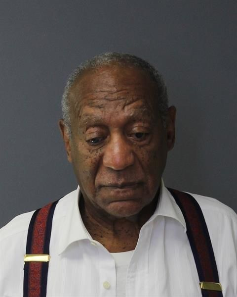 Bill Cosby grins in newly released prison mug shot