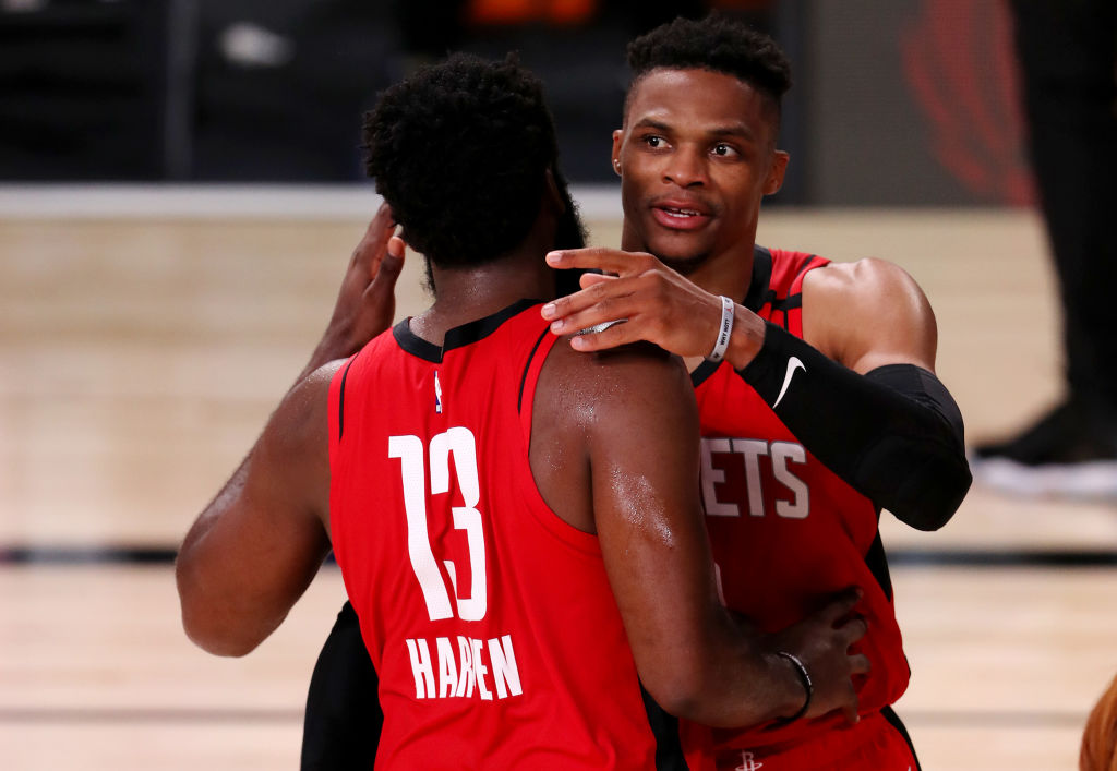 National Basketball Association superstar Russell Westbrook requests trade from Houston Rockets