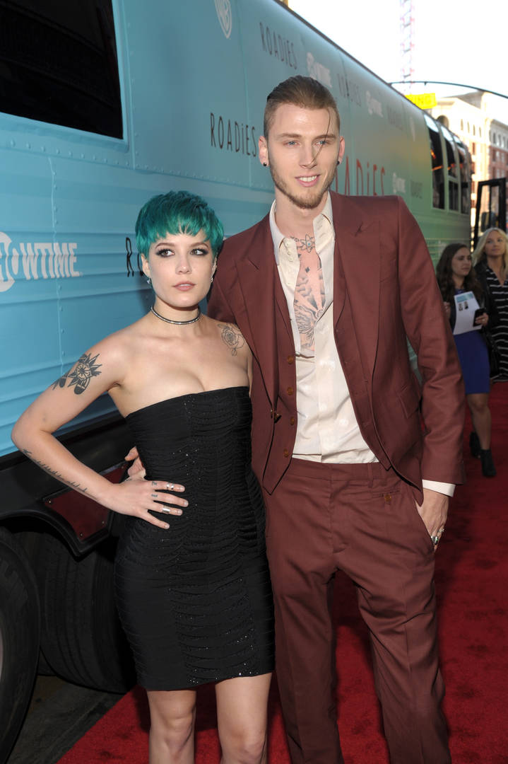 Halsey, Machine Gun Kelly, Drugs, Abuse, Violence, Poetry,