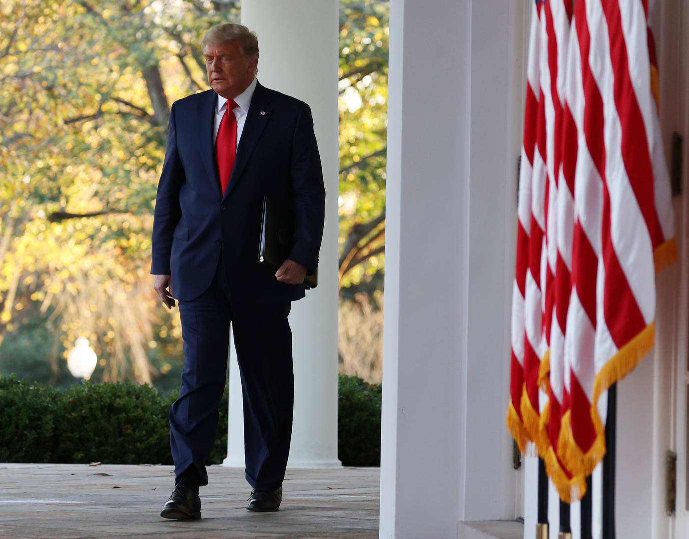 'He won because...' - Trump edges toward accepting Biden victory