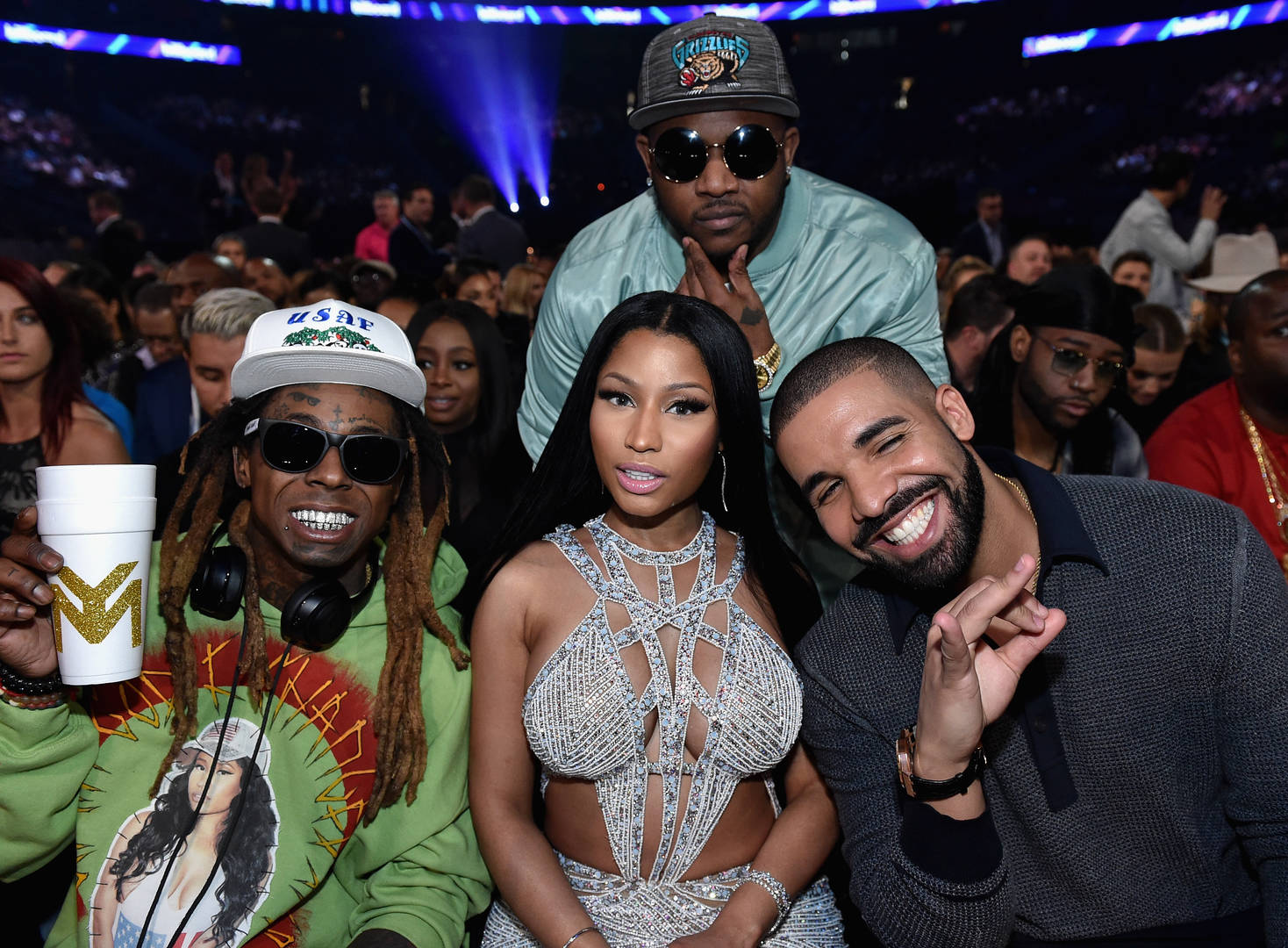 lil wayne drake nicki minaj and mack maine