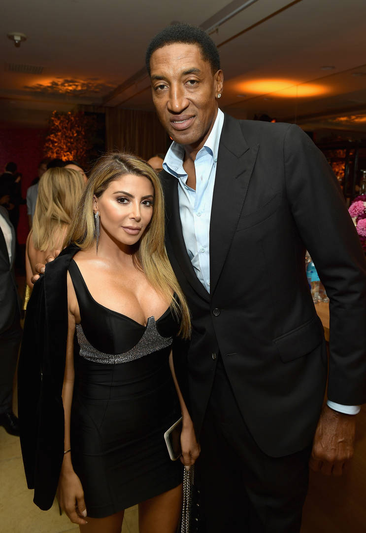 Larsa Pippen, Scottie Pippen, Adrianna Brown, Instagram