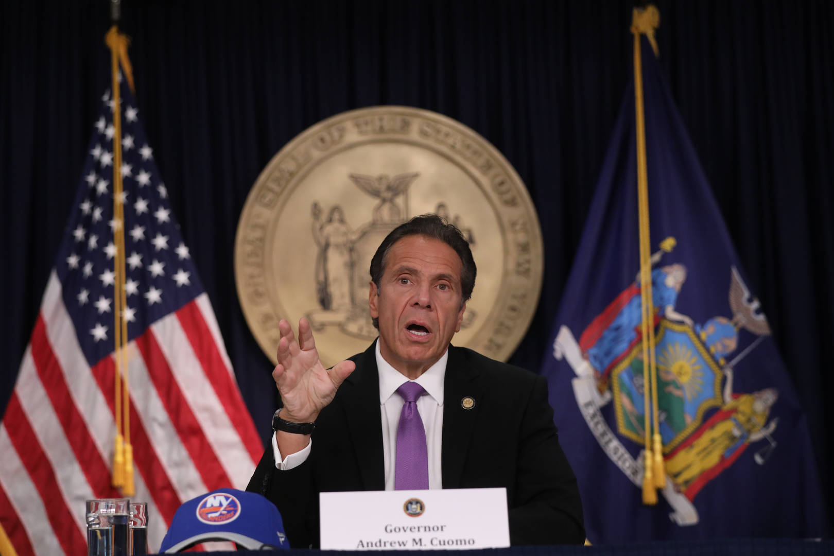 Andrew Cuomo, Sexual Harassment