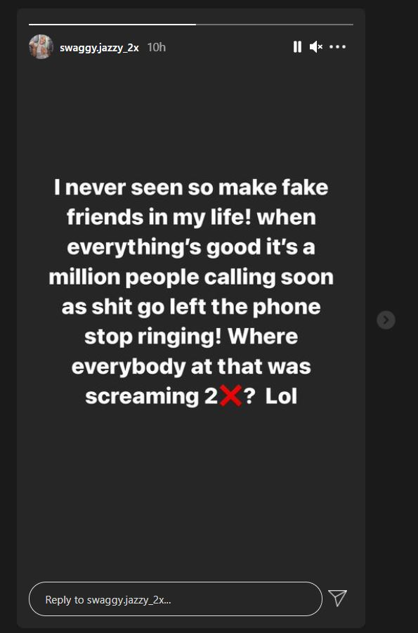 Casanova, Swaggy Jazzy, Instagram Story, Arrest, Jail, Case