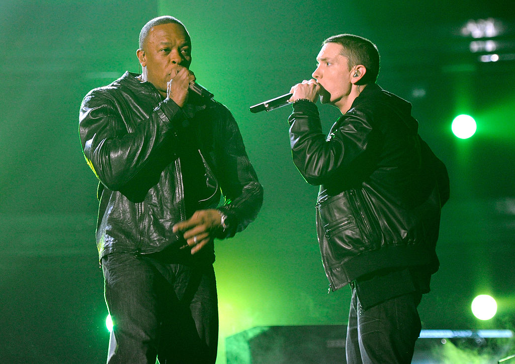 Dr. Dre Eminem Music To Be Murdered By