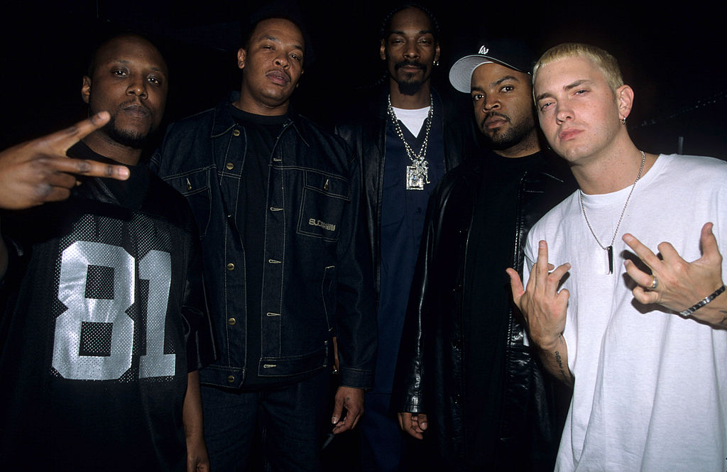 Nate Dogg Dr. Dre Snoop Dogg Ice Cube Eminem