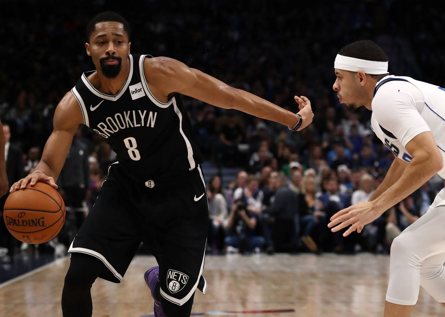 Spencer Dinwiddie, James Harden