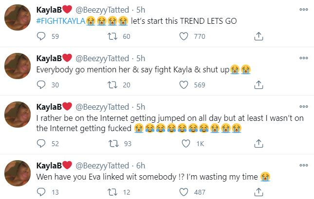 Cuban Doll, Kayla, King Von's Sister, Fight