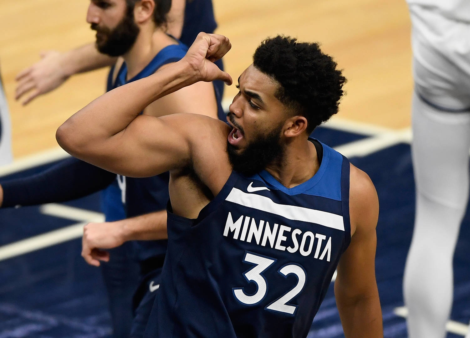 Karl-Anthony Towns Tests Positive For COVID, 'It Breaks My Heart'