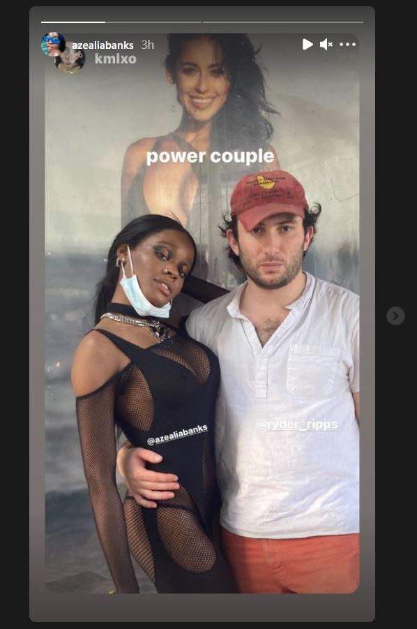 Azealia Banks, Ryder Ripps, Dating, Couple, Instagram