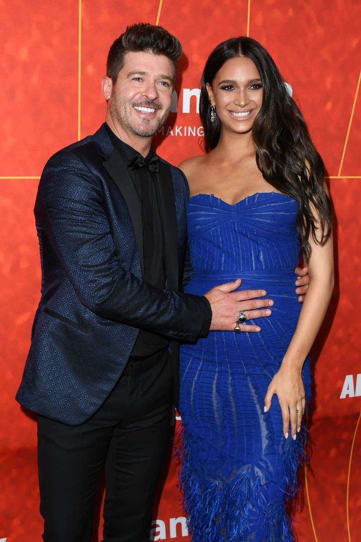 April Geary, Robin Thicke, Paula Patton, Therapy