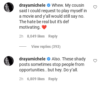 """Draya Michele comments on """"Player's Club"""" backlash"""