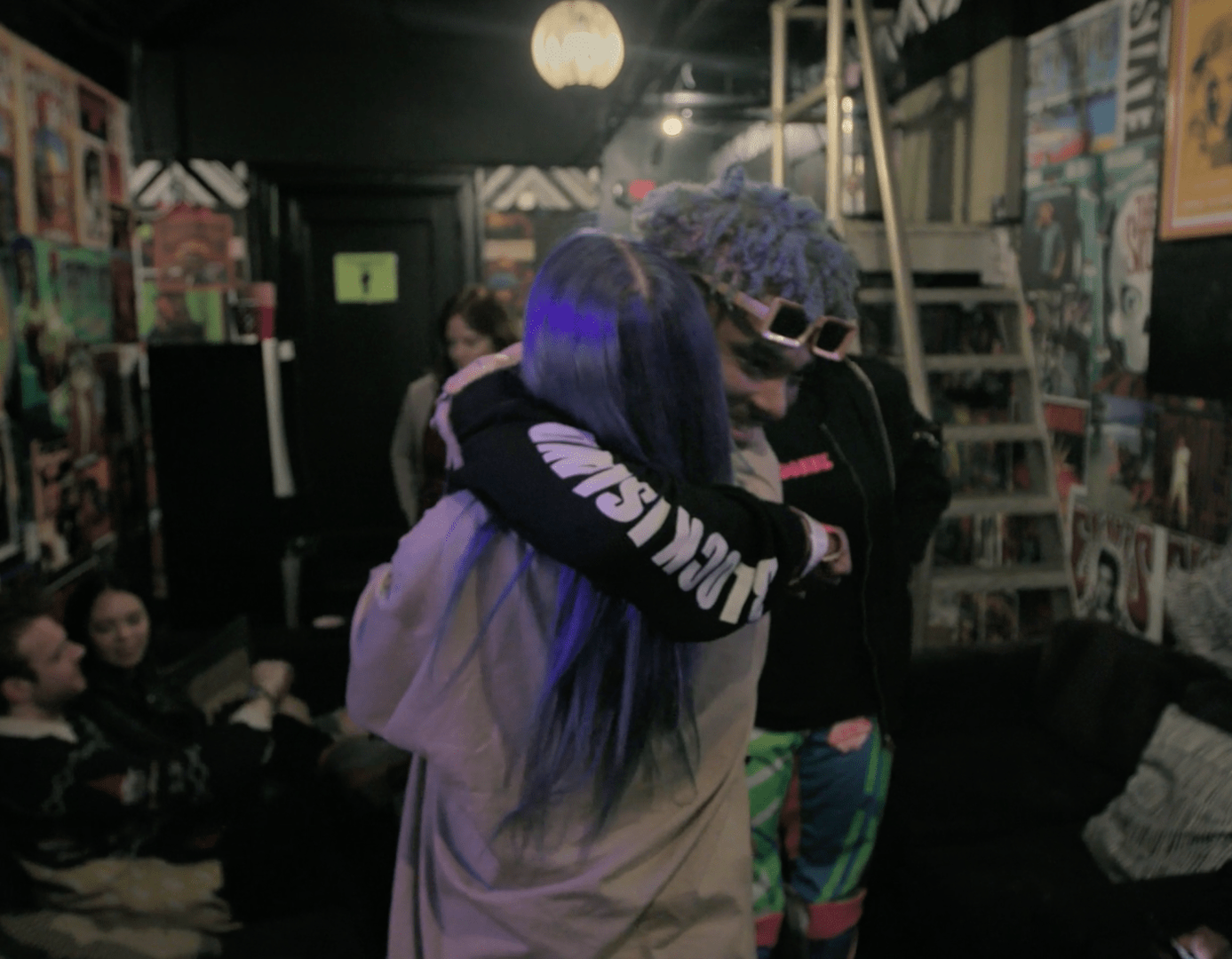 Billie Eilish and Boyfriend Q