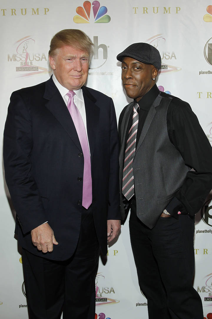 Donald Trump, Arsenio Hall, Jimmy Kimmel, Eddie Murphy, Coming 2 America