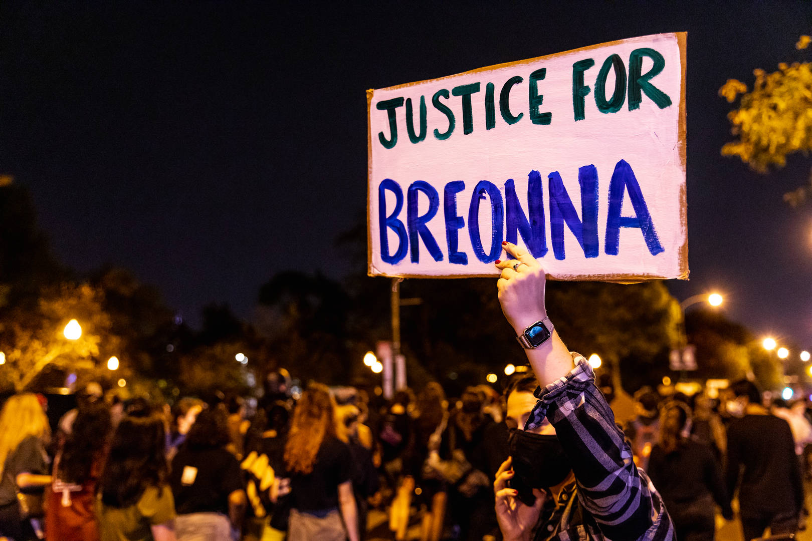 Breonna Taylor protest sign