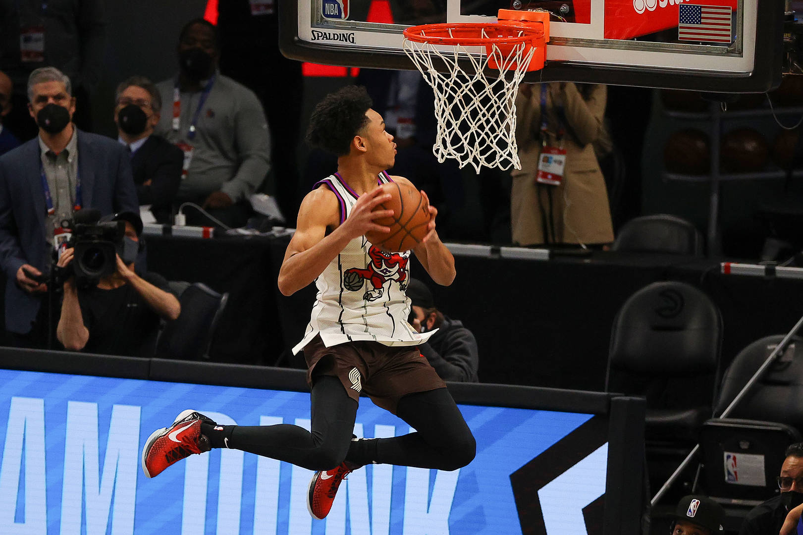 Anfernee Simons, Dunk Contest