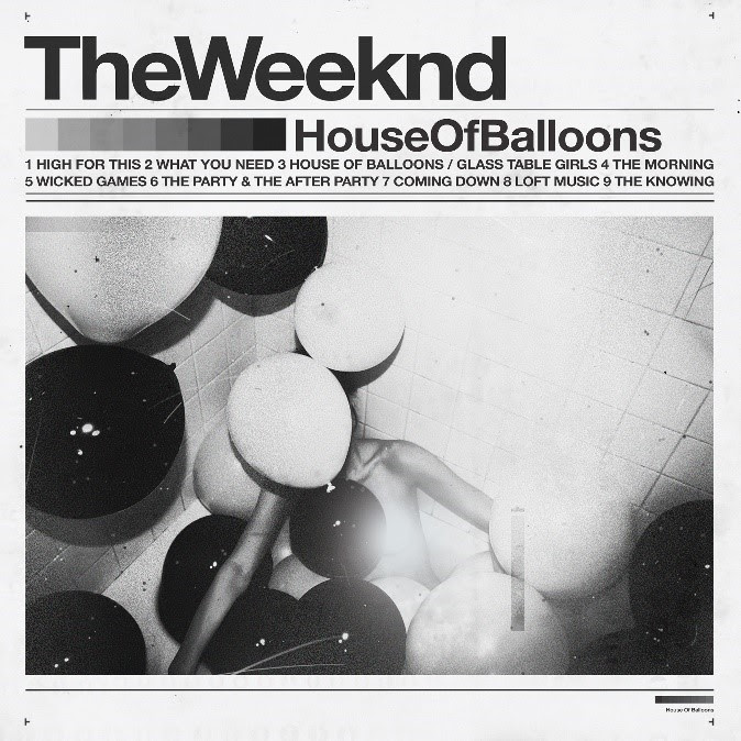 the weeknd house of balloons album cover