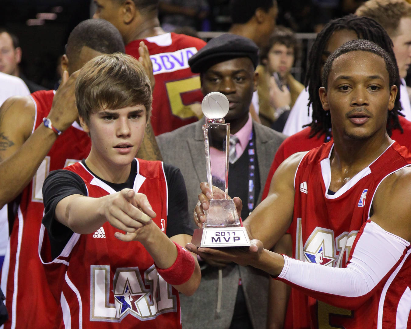 Justin Bieber, Romeo Miller, The Mix, Fox Soul
