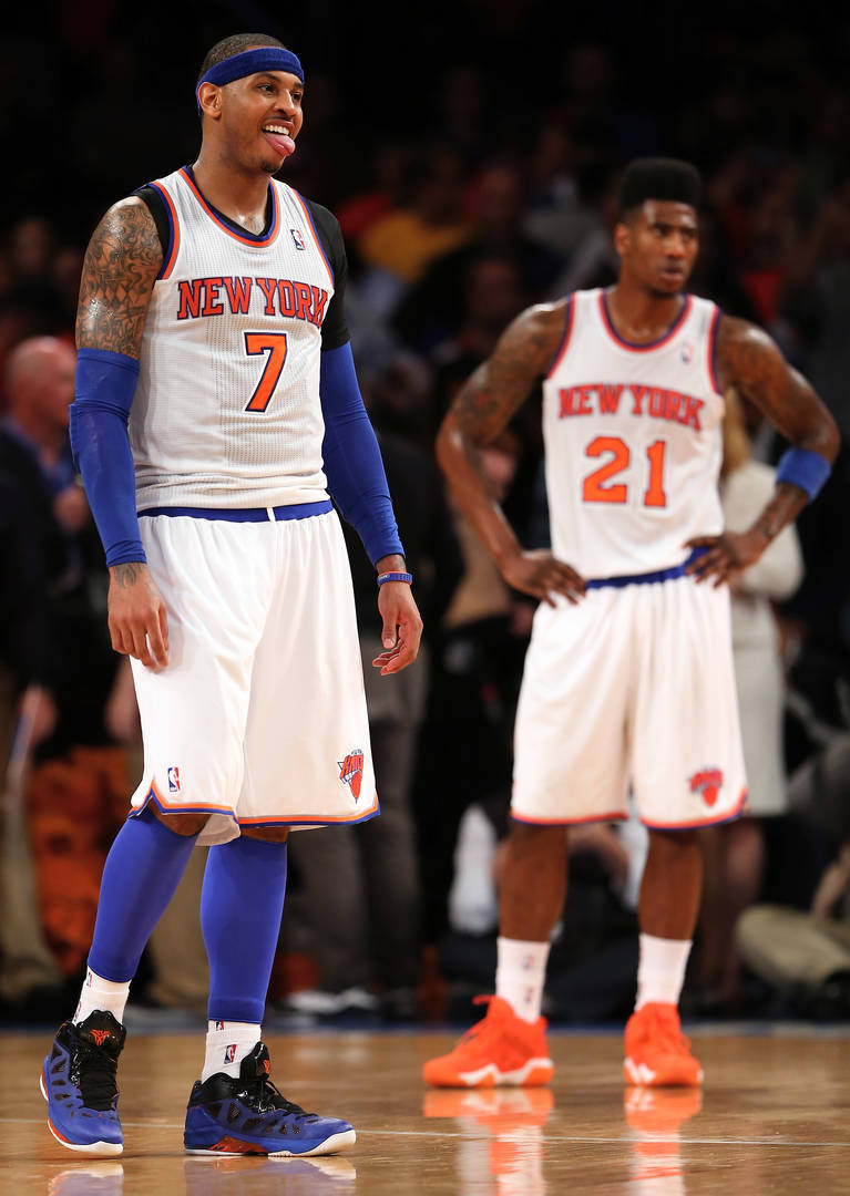 Carmelo Anthony & Iman Shumpert