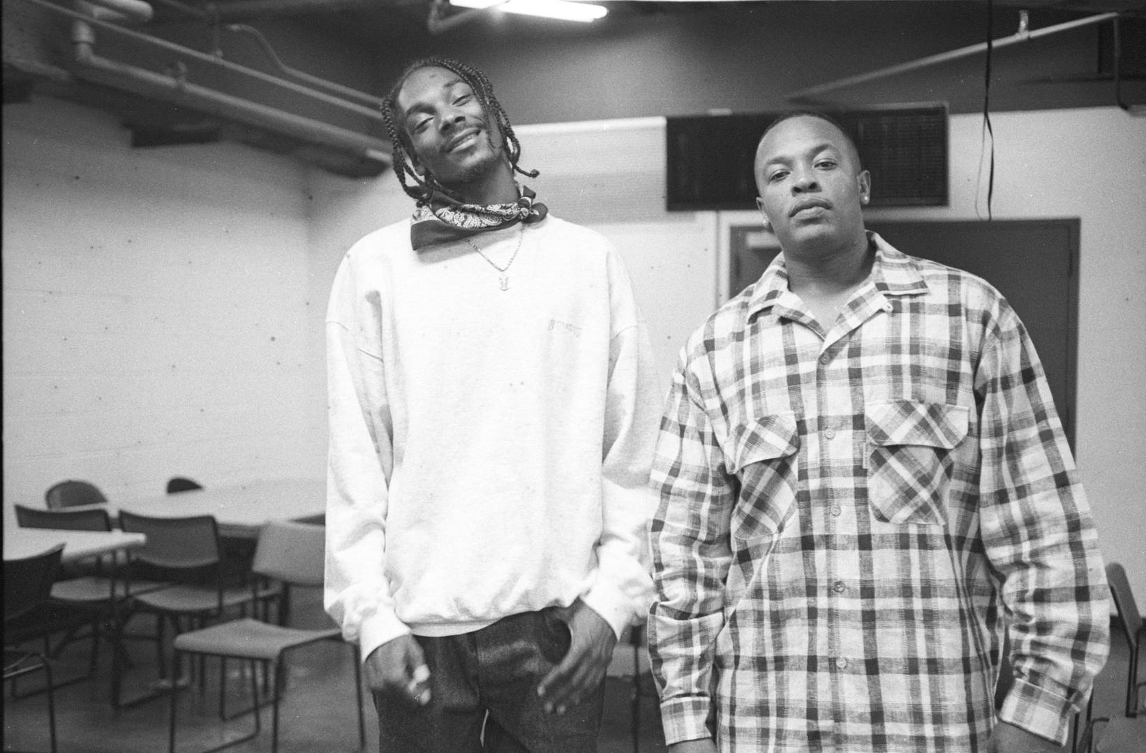 dr. dre snoop dogg vintage photo