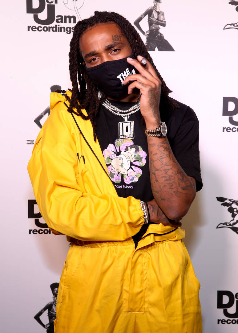 """Quavo attends the Teyana Taylor """"The Album"""" Listening Party on June 17, 2020 in Beverly Hills, California."""
