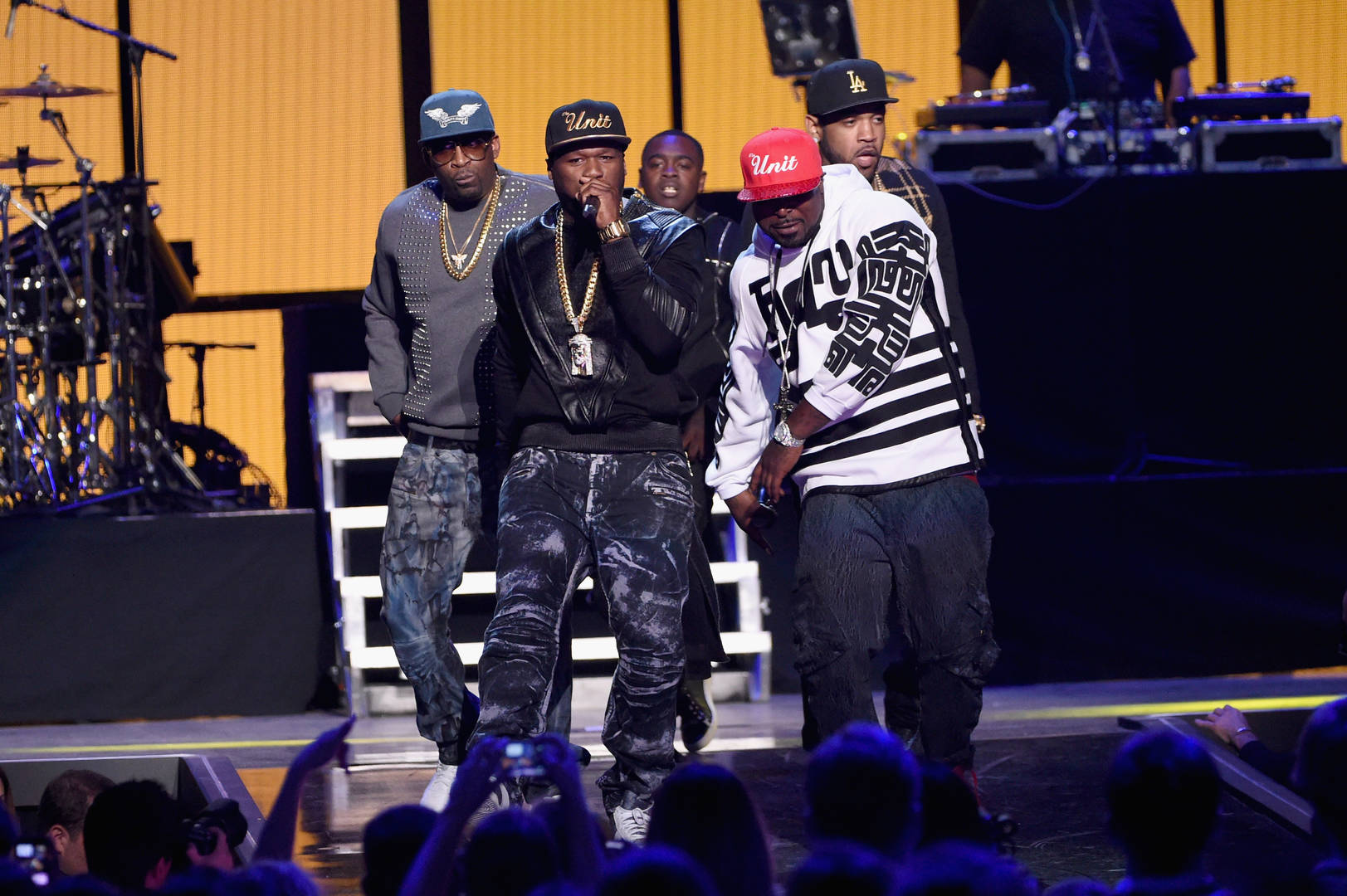 50 Cent, Young Buck, G-Unit, Big Facts Pod, Ghsotwriting