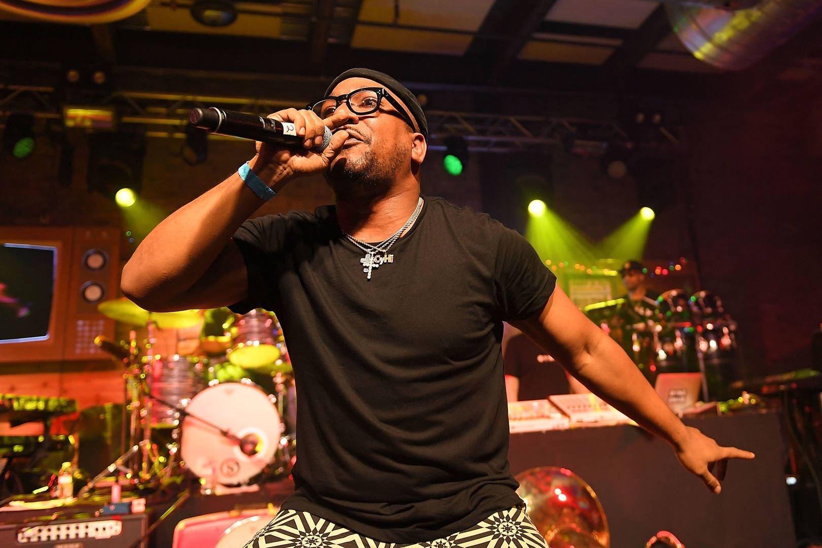 Rapper Cyhi the Prynce and The Roots perform during the Budlight Event 2017 SXSW Conference and Festivals on March 18, 2017 in Austin, Texas.