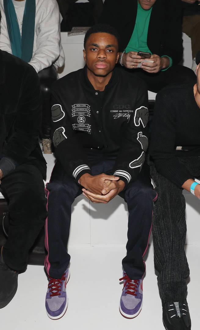 Recording artist Vince Staples attends the 2020 Tokyo Olympic collection fashion show at The Shed on February 05, 2020 in New York City