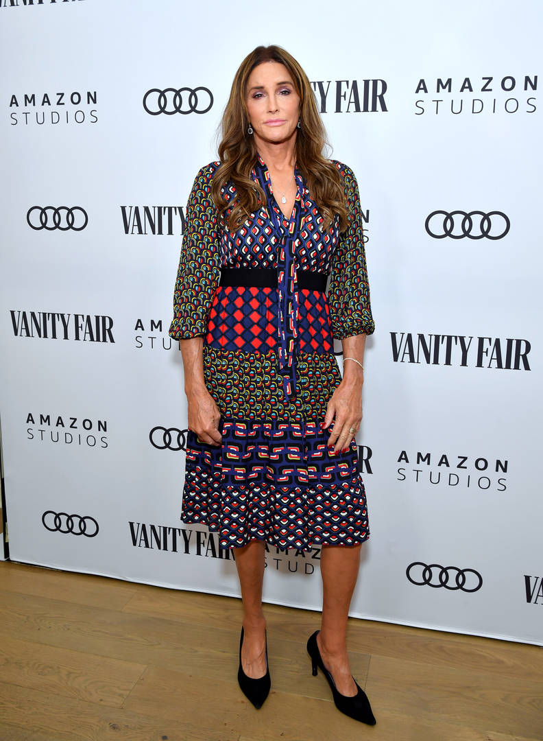 Caitlyn Jenner attends The Vanity Fair x Amazon Studios 2020 Awards Season Celebration at San Vicente Bungalows on January 04, 2020 in West Hollywood, California.