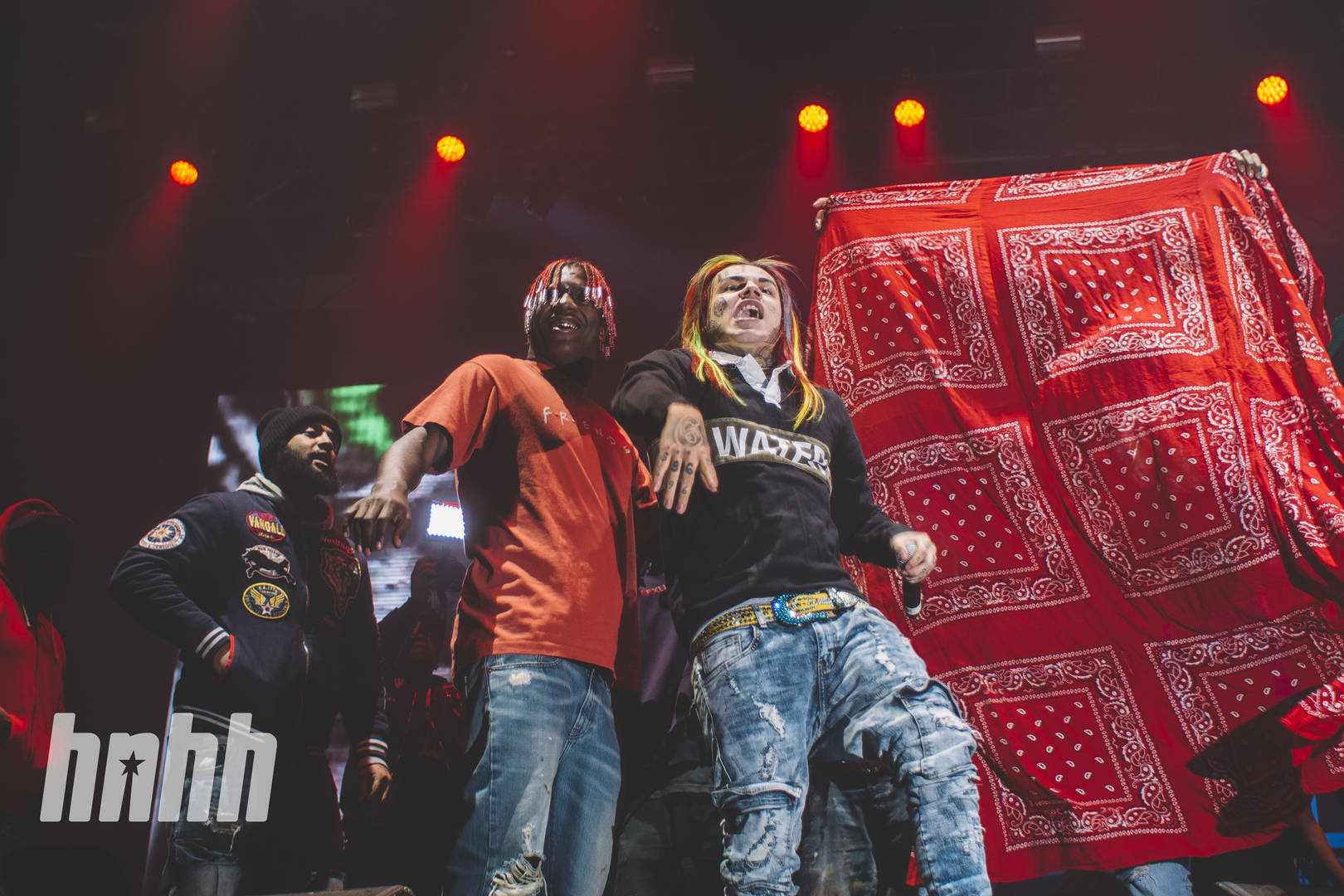 6ix9ine and lil yachty together