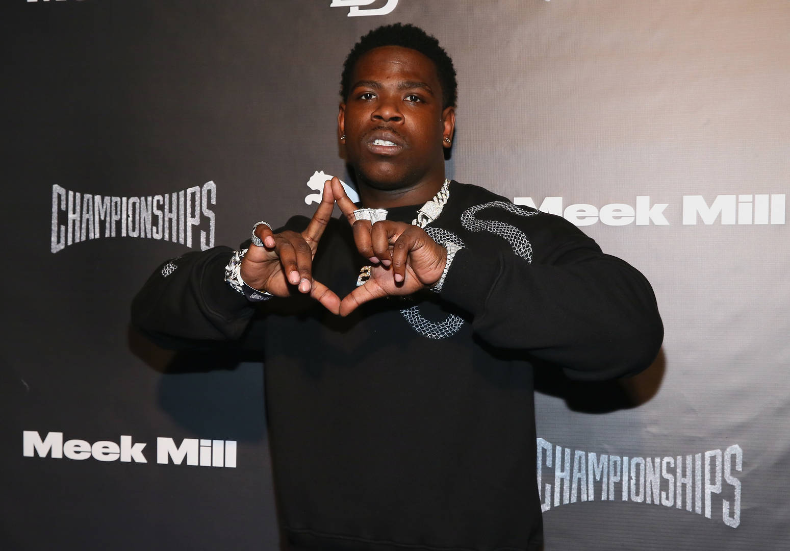 Rapper Casanova attends Meek Mill and PUMA celebrate CHAMPIONSHIPS album release party at PHD at the Dream Downtown on November 29, 2018 in New York City.