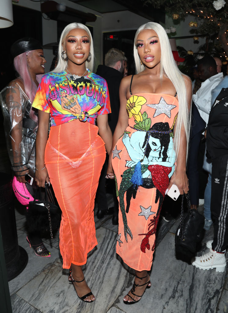 Clermont Twins, City Girls, Mood Board, Pose, Photoshoot