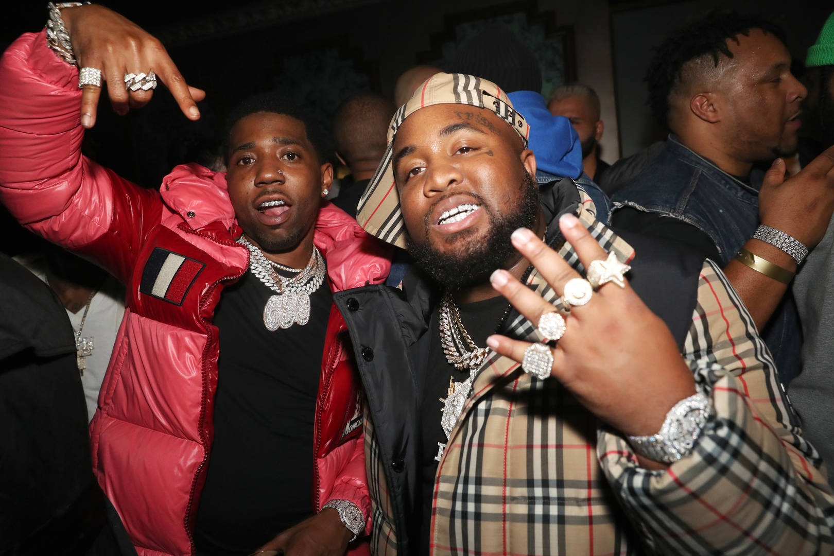 YFN Lucci and Mo3 attend EMPIRE Celebrates The Grammys at The Reserve on January 24, 2020 in Los Angeles, California.