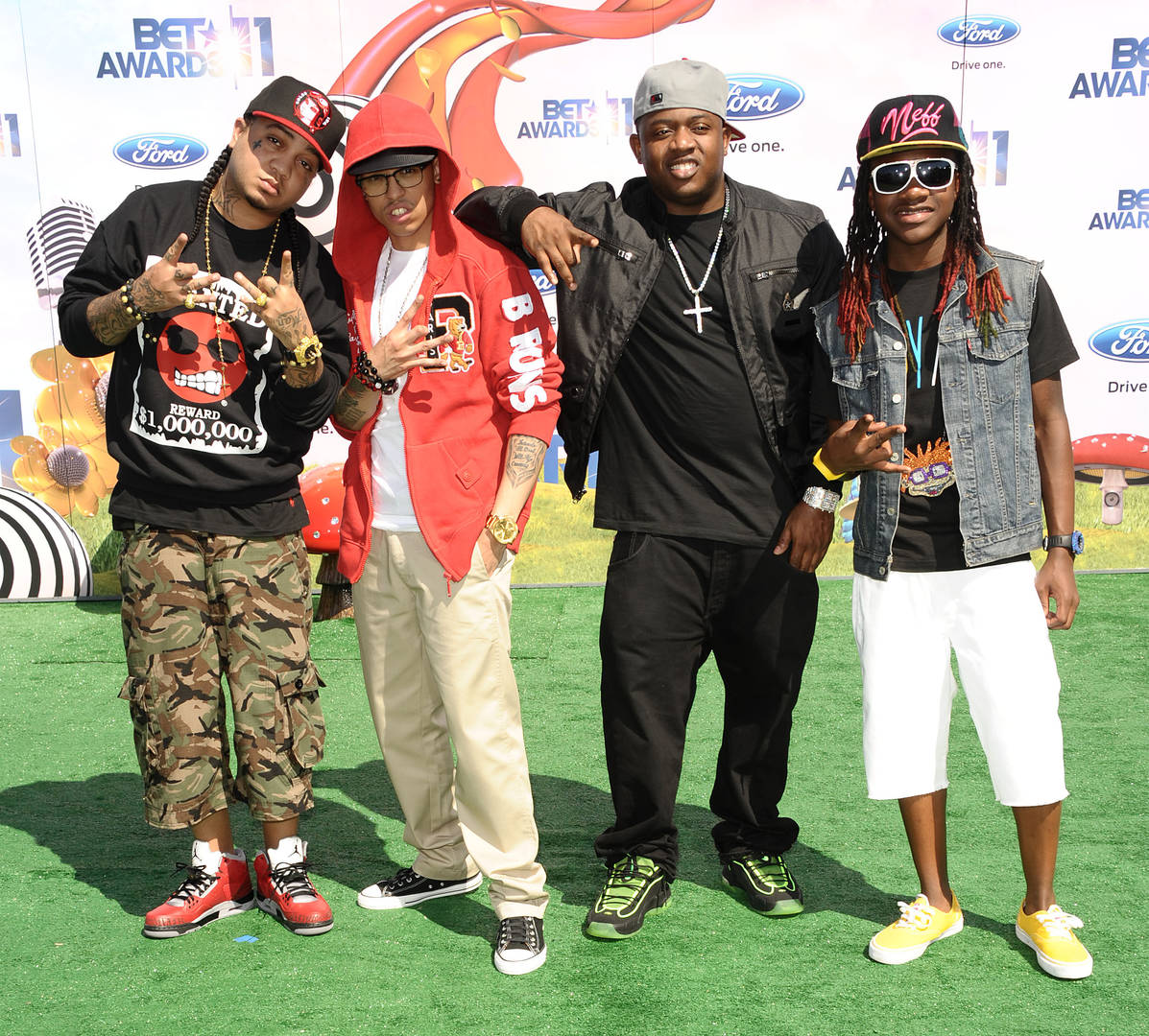 cory gunz and young money crew