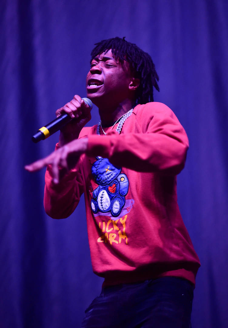 Rapper Lil Loaded performs during The PTSD Tour In Concert at The Tabernacle on March 11, 2020 in Atlanta, Georgia.
