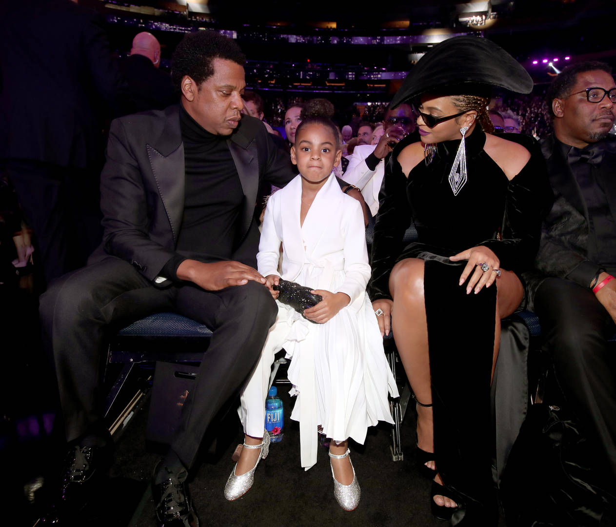 Jay-Z Blue Ivy Not Impressed Rock & Roll Hall of Fame Induction