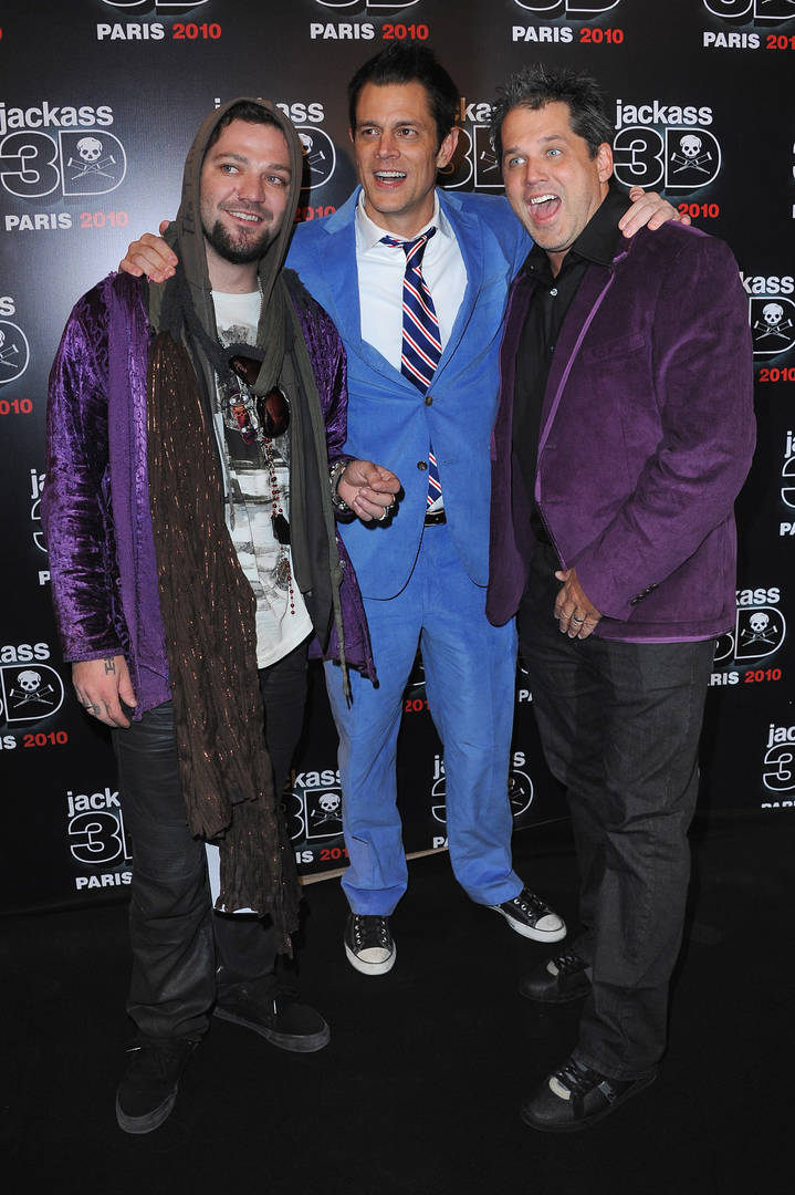 Jeff Tremaine, Bam Margera, Johnny Knoxville