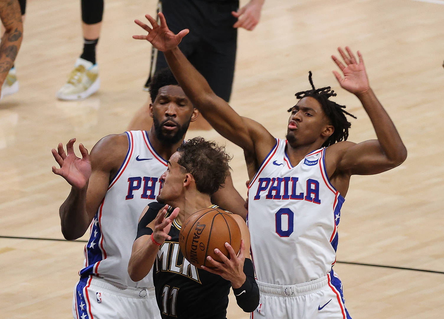 Joel Embiid & Trae Young