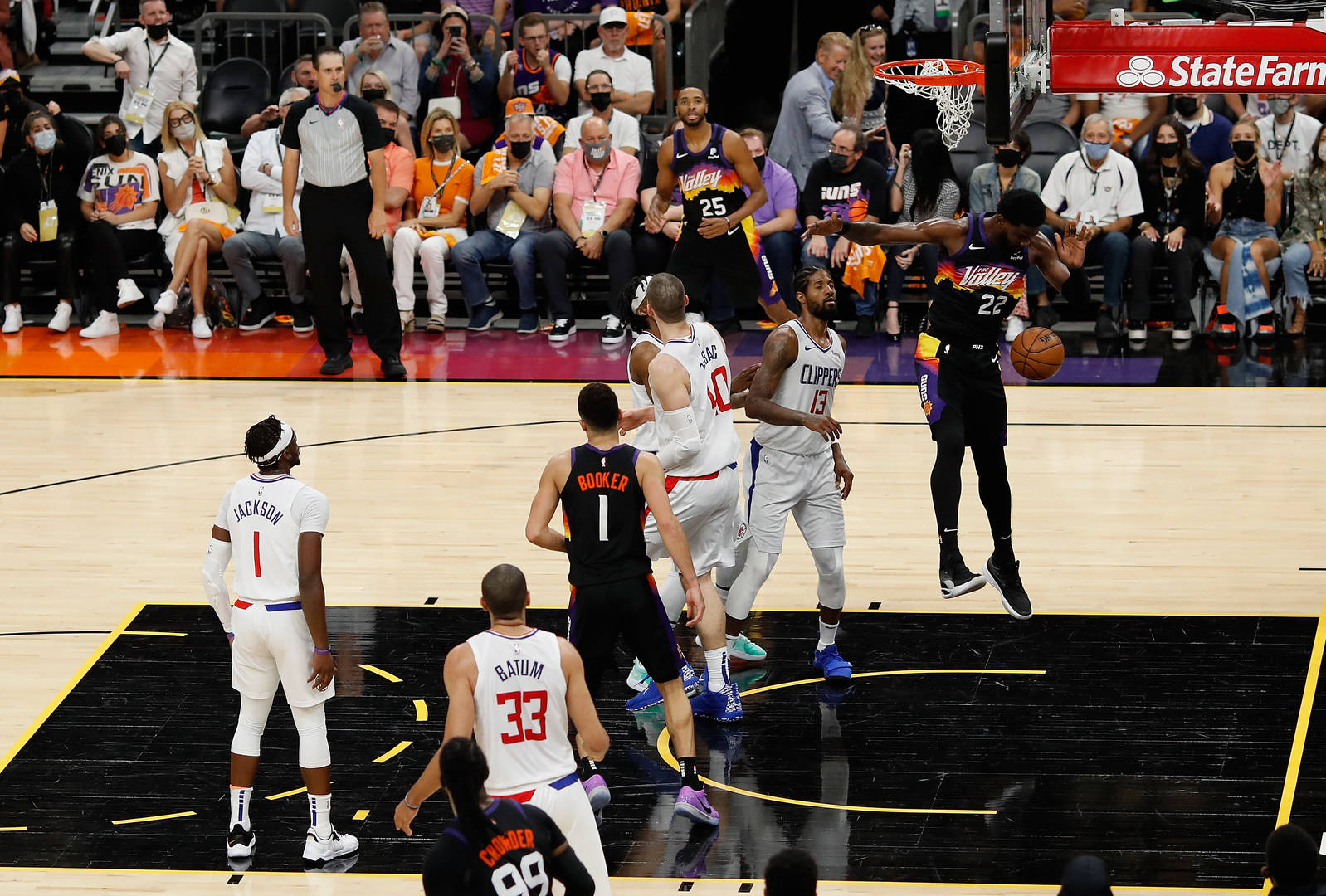 Suns Vs. Clippers