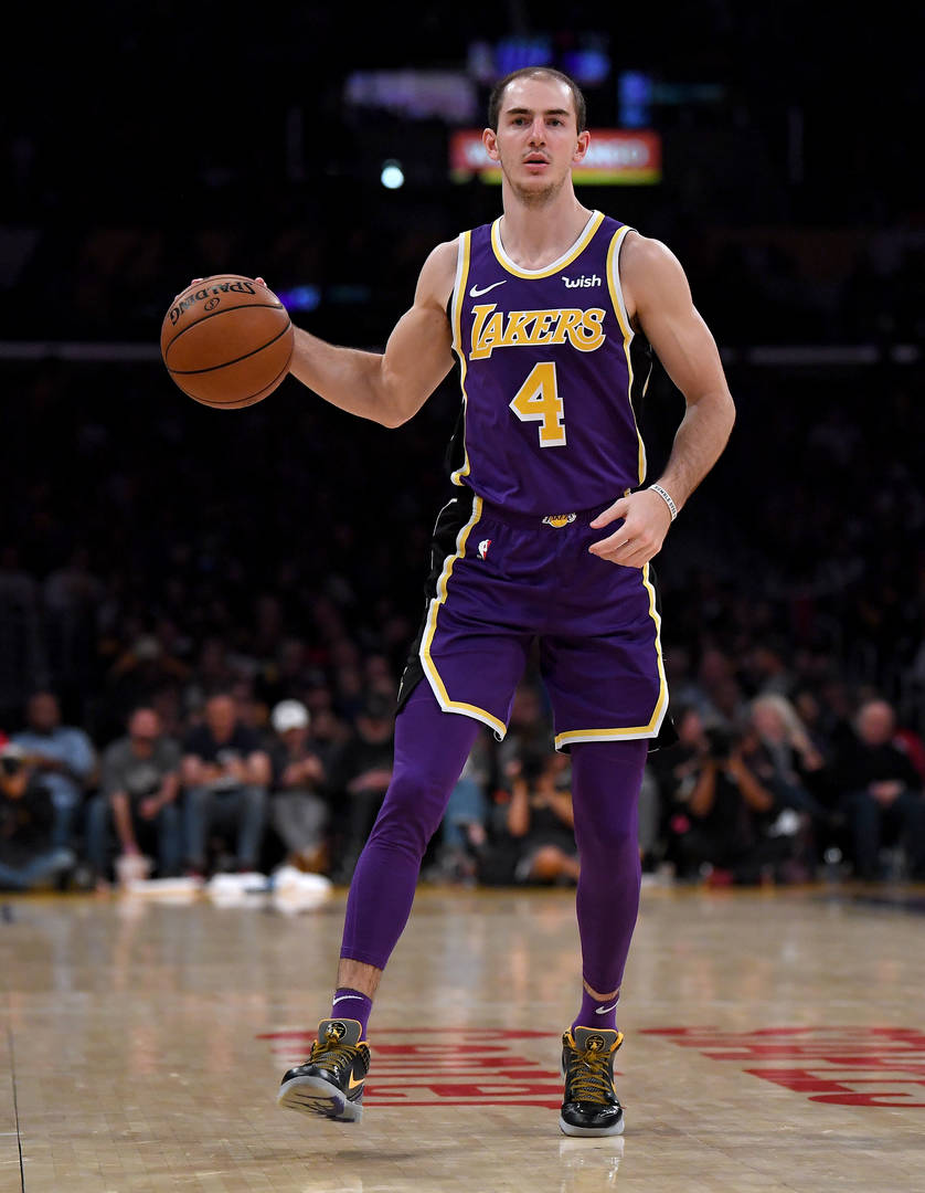 Alex Caruso, Arrest, Weed, Lakers