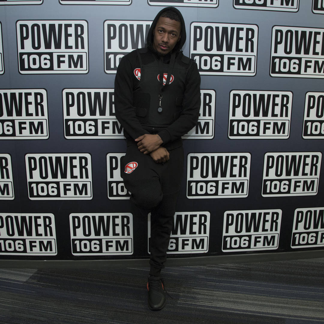 Nick Cannon attends Nick Cannon, Meruelo Media, Skyview Announce Radio Syndication on December 04, 2019 in Burbank, California.