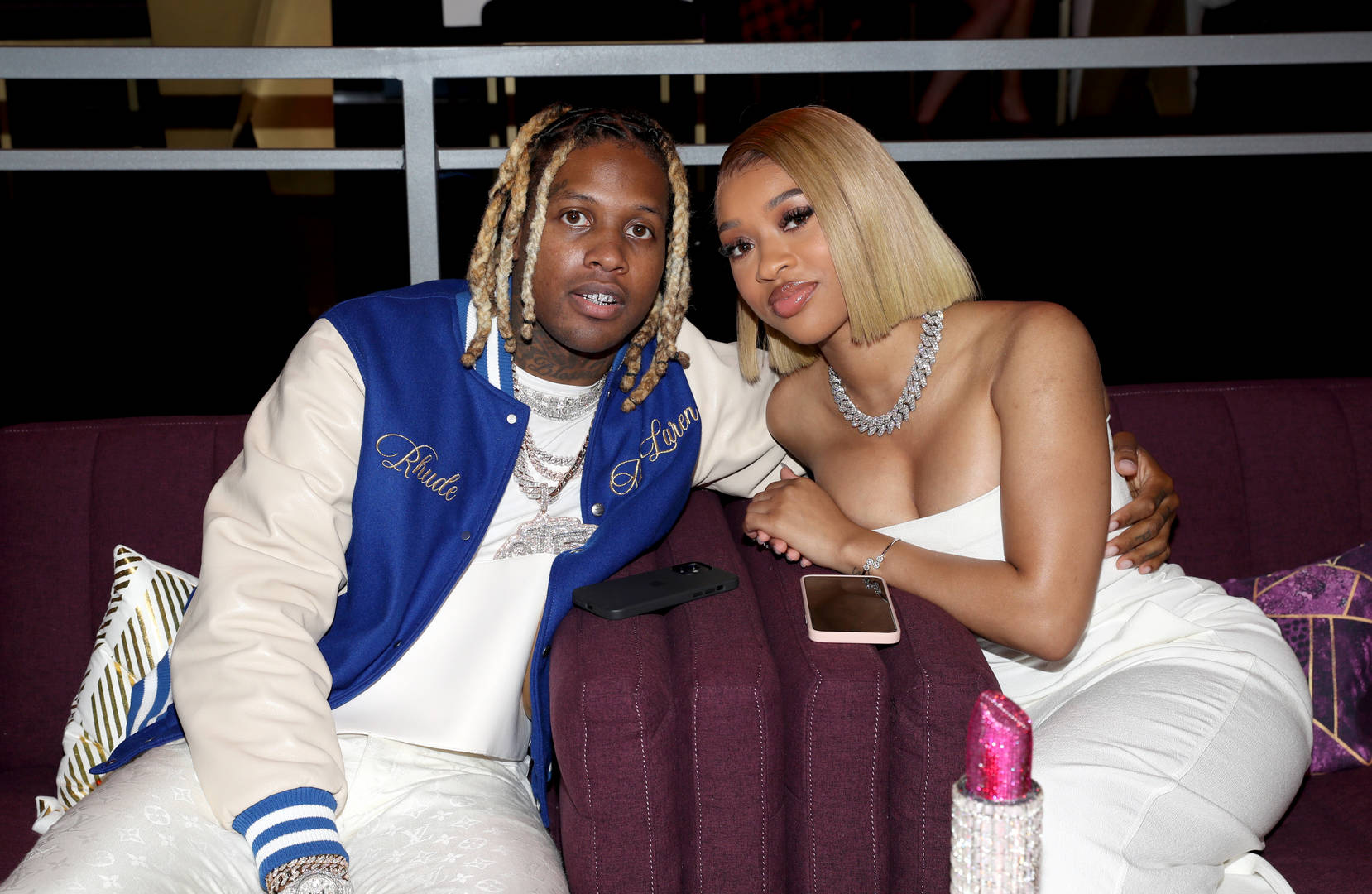 LIL DURK AND INDIA AT BET AWARDS 2021
