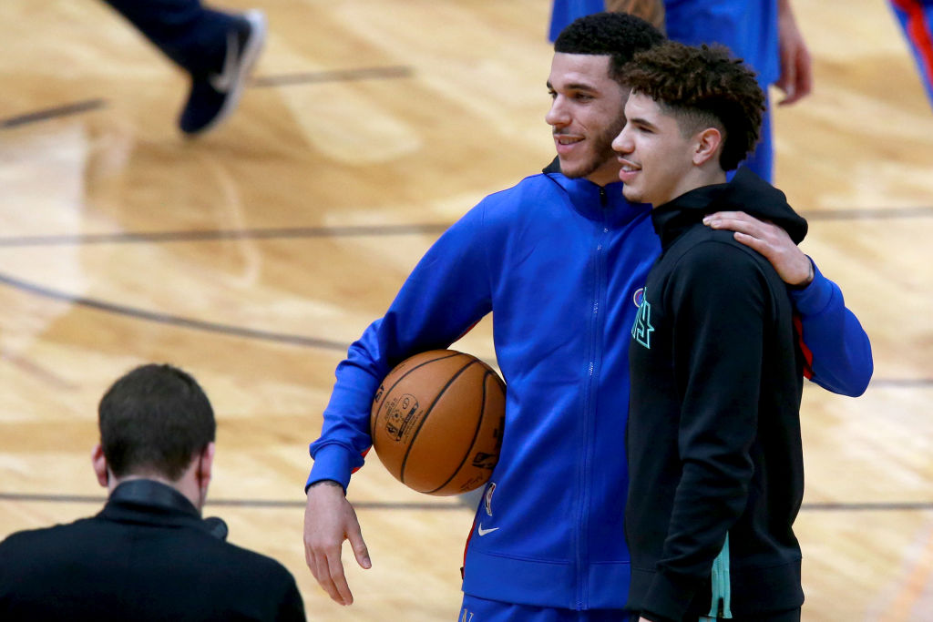 Lonzo And LaMelo Ball