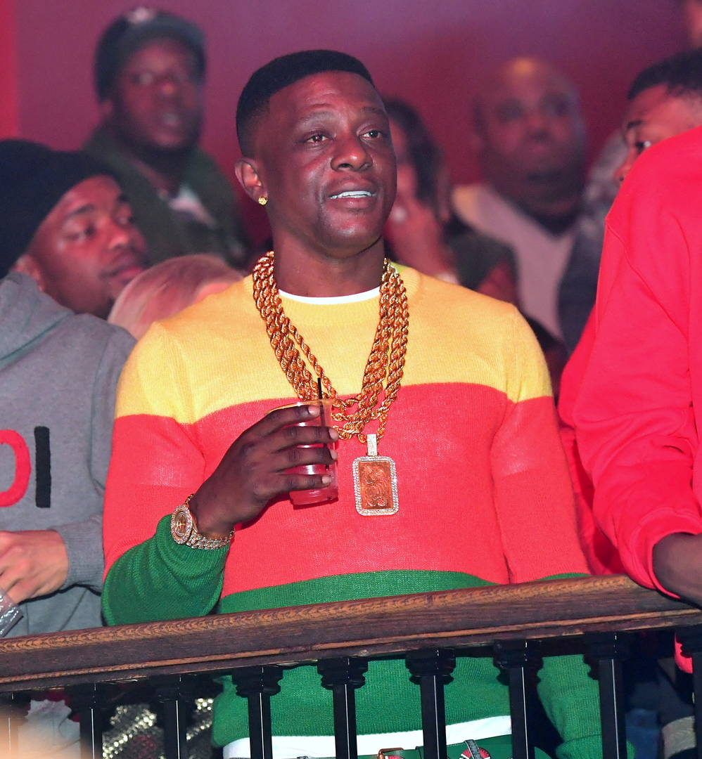 Boosie attends the Boosie Host Saints vs Falcons Game After Party at The Mansion Elan on January 2, 2017 in Atlanta, Georgia.