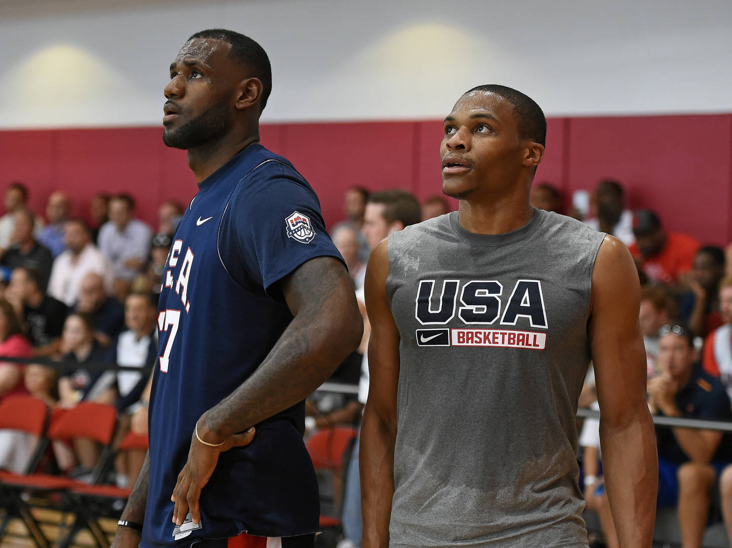 LeBron James & Russell Westbrook