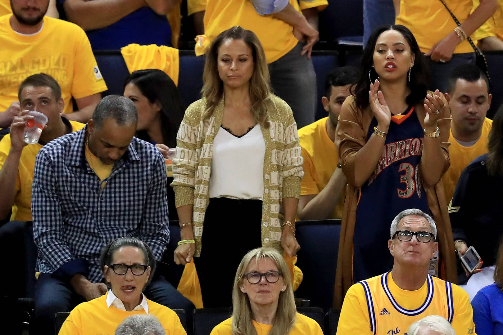 Sonya & Dell Curry
